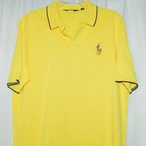Polo Golf Ralph Lauren Pro Fit Solid Yellow Polo